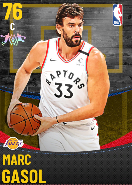 76 Marc Gasol | Los Angeles Lakers