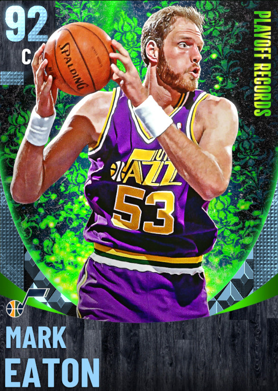 92 Mark Eaton | One Will Rise Playoff Records