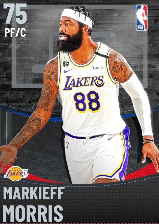 75 Markieff Morris | Los Angeles Lakers