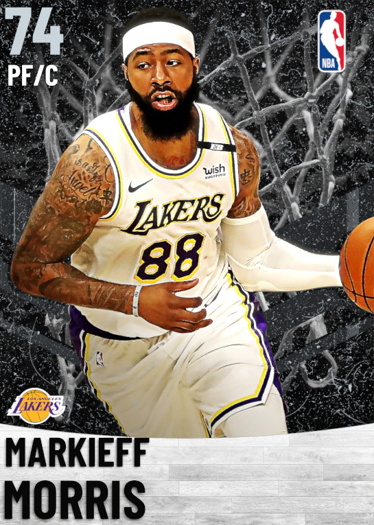 74 Markieff Morris   Los Angeles Lakers