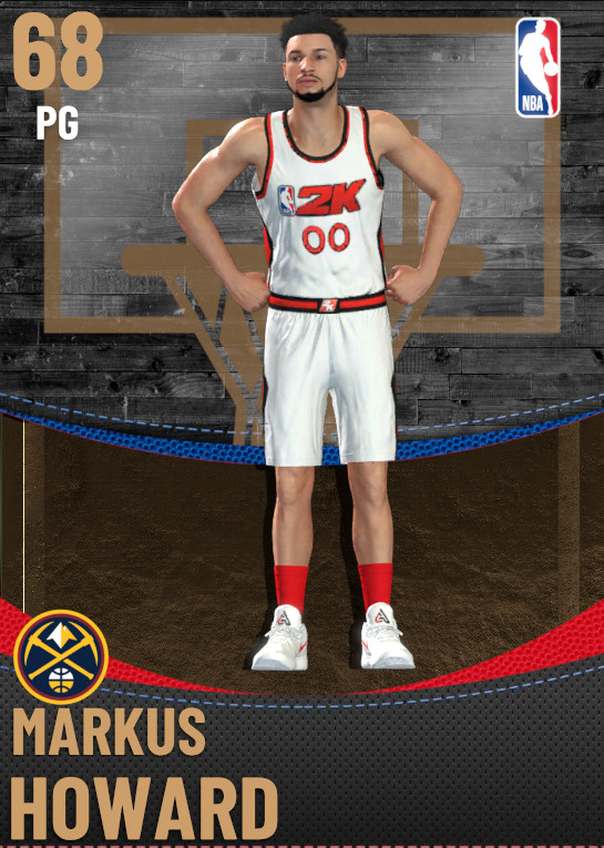 68 Markus Howard | Denver Nuggets