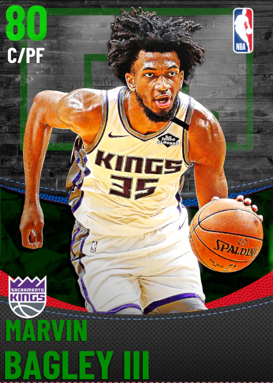 80 Marvin Bagley III | Sacramento Kings