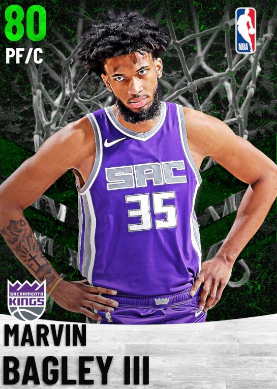 80 Marvin Bagley III   Sacramento Kings