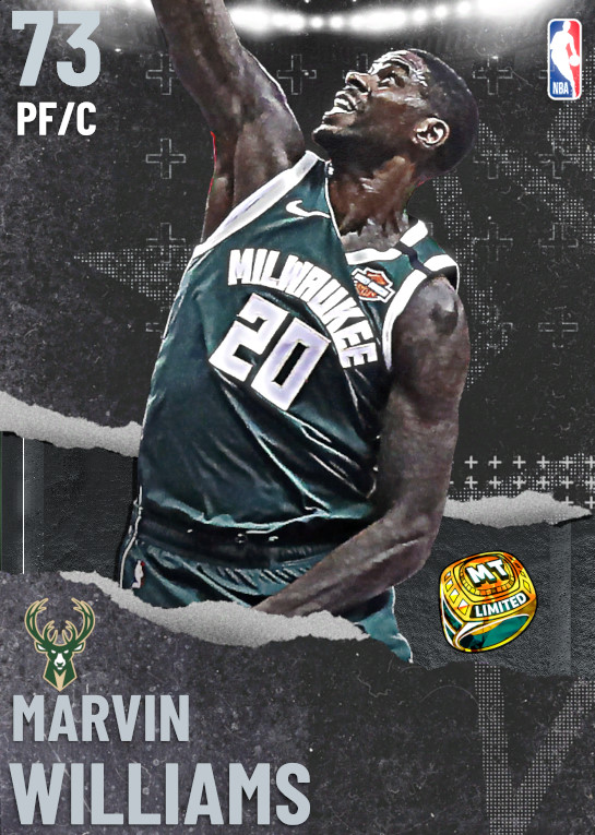 73 Marvin Williams | undefined