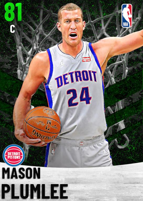 81 Mason Plumlee   Detroit Pistons