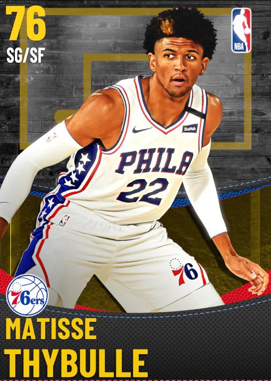 76 Matisse Thybulle | Philadelphia 76ers