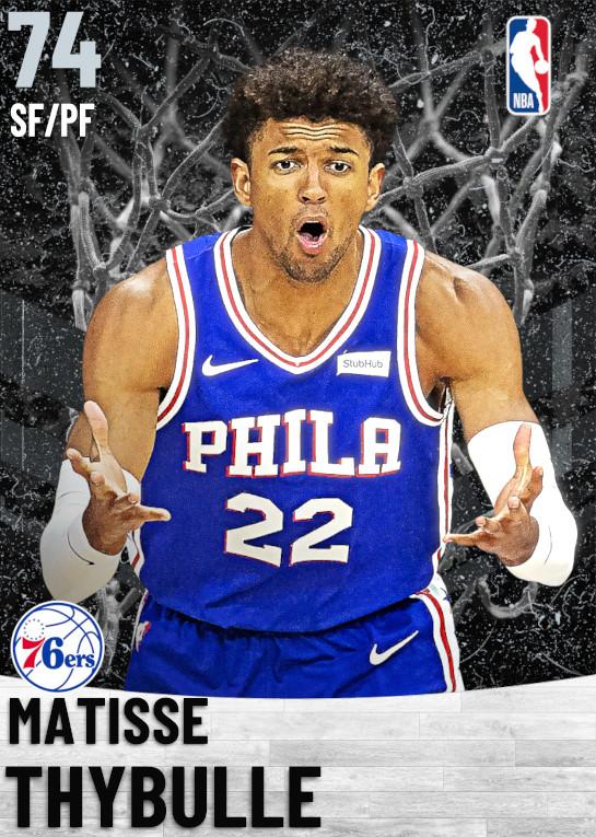 74 Matisse Thybulle   Philadelphia 76ers