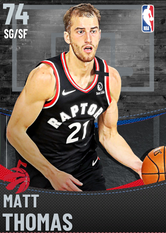 74 Matt Thomas | Toronto Raptors