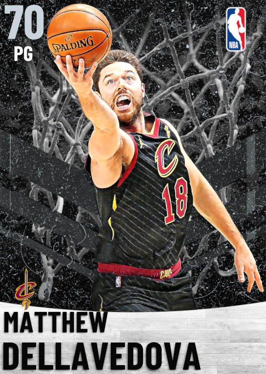 70 Matthew Dellavedova   Cleveland Cavaliers