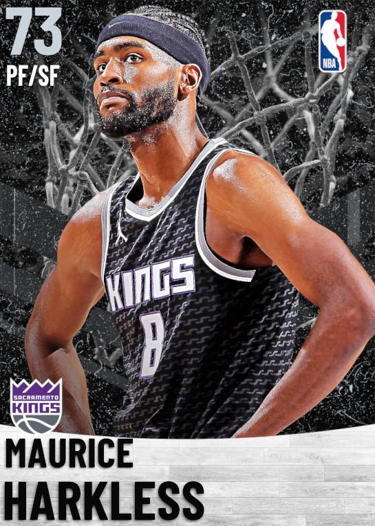 73 Maurice Harkless   Sacramento Kings