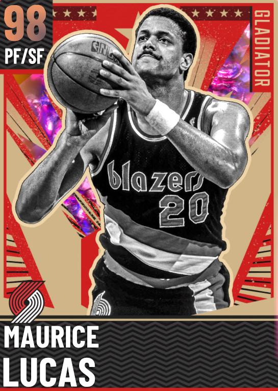 98 Maurice Lucas   Gladiator