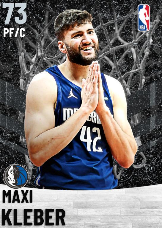 73 Maxi Kleber   Dallas Mavericks