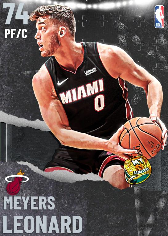 74 Meyers Leonard   Miami Heat