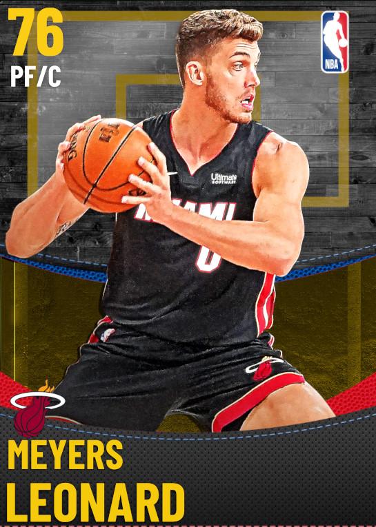 76 Meyers Leonard | Miami Heat