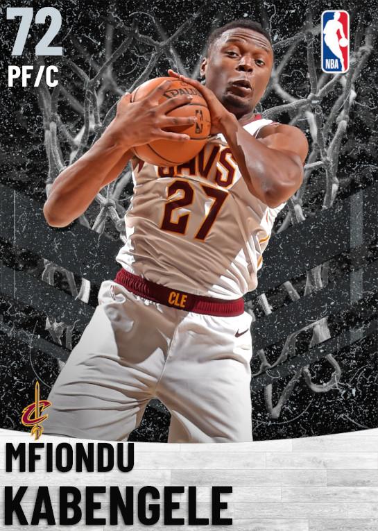 72 Mfiondu Kabengele   Cleveland Cavaliers