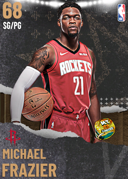 68 Michael Frazier | undefined