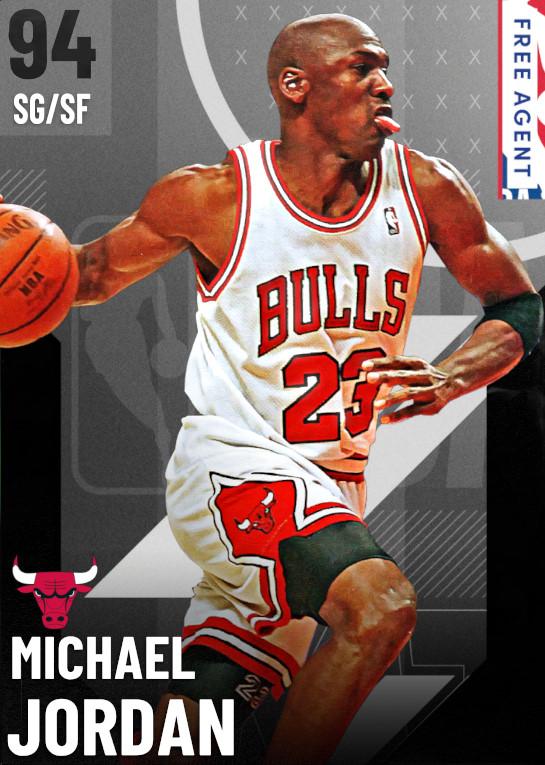 94 Michael Jordan   undefined