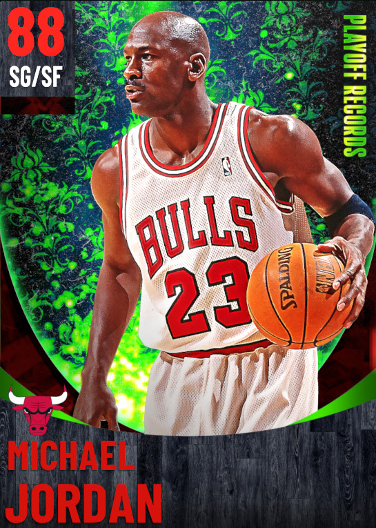 88 Michael Jordan | One Will Rise Playoff Records