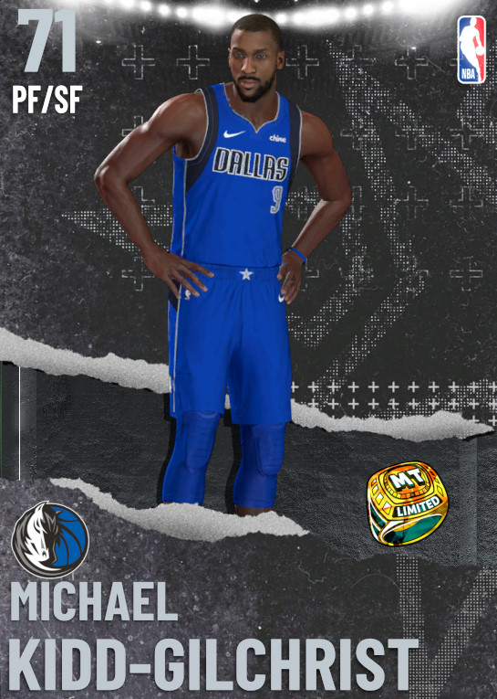 71 Michael Kidd-Gilchrist | undefined