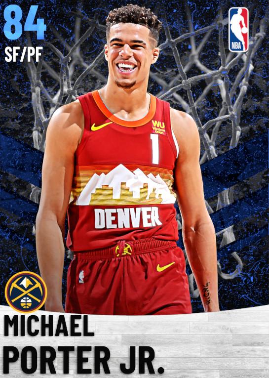 84 Michael Porter Jr.   Denver Nuggets