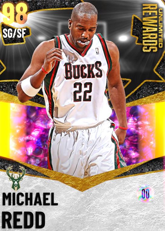 98 Michael Redd | Unlimited Rewards