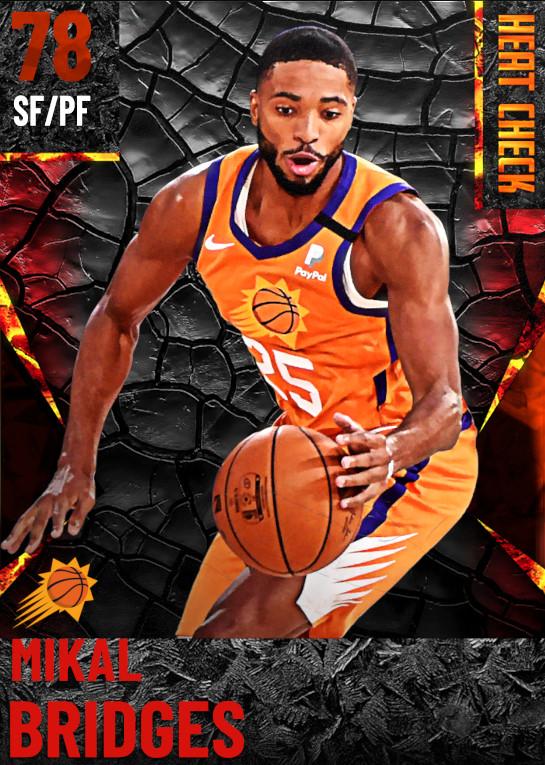 78 Mikal Bridges | Phoenix Suns