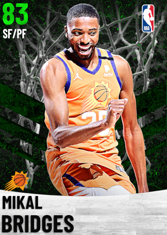 83 Mikal Bridges   Phoenix Suns
