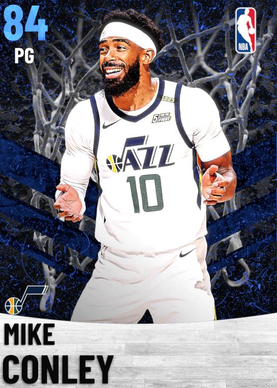 84 Mike Conley   Utah Jazz