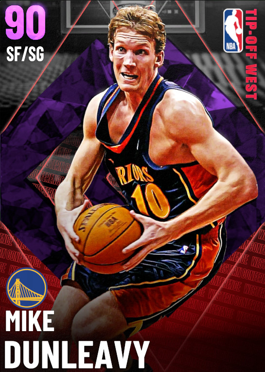 90 Mike Dunleavy   Season 2 Tip Off  West