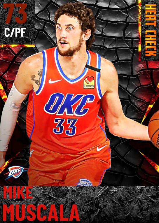 73 Mike Muscala | Oklahoma City Thunder