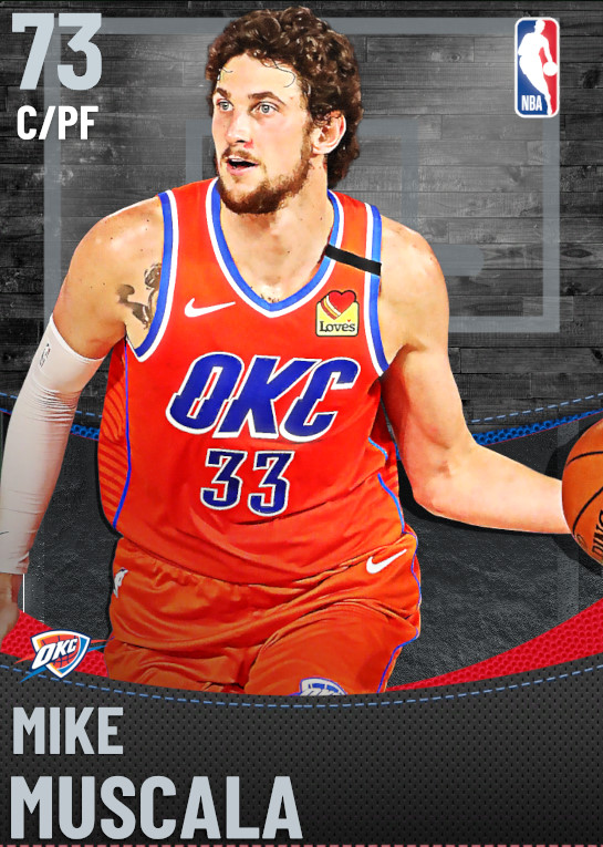 73 Mike Muscala | undefined