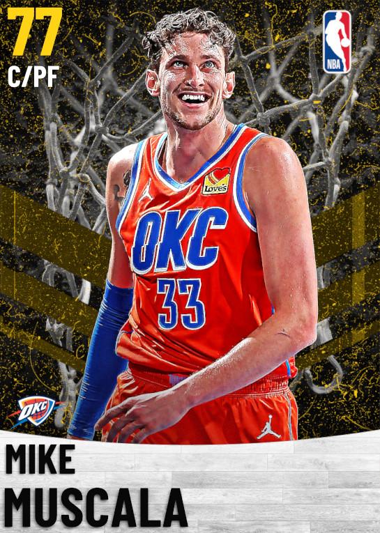77 Mike Muscala   Oklahoma City Thunder