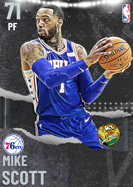 71 Mike Scott | undefined