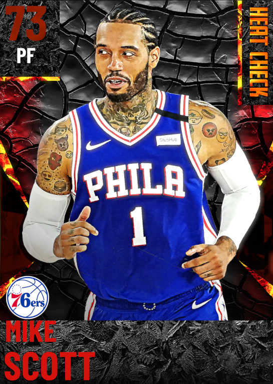 73 Mike Scott | undefined