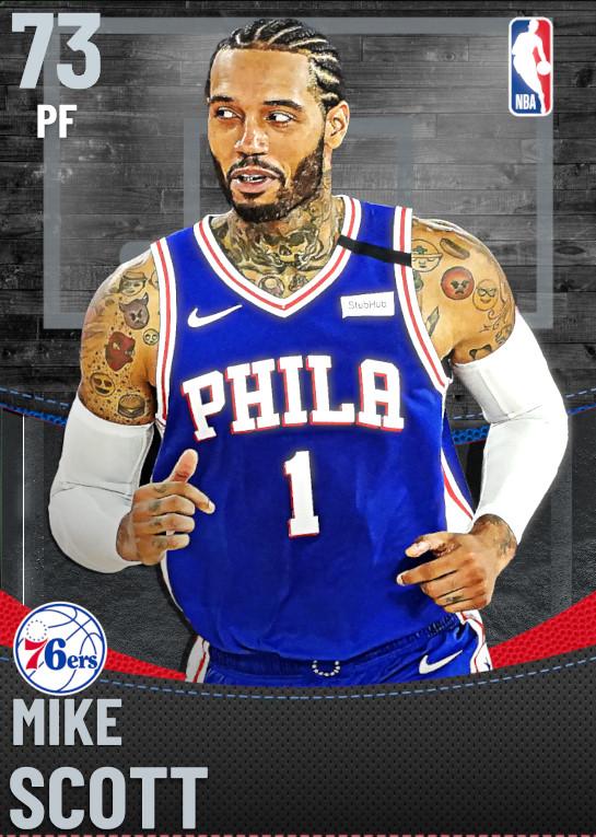 73 Mike Scott | Philadelphia 76ers