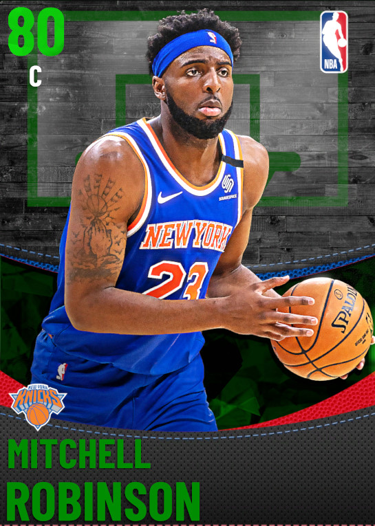 80 Mitchell Robinson | New York Knicks