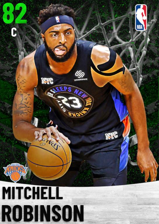 82 Mitchell Robinson   New York Knicks