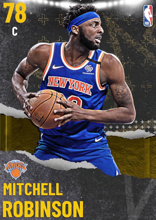 78 Mitchell Robinson | undefined