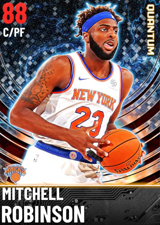 88 Mitchell Robinson | undefined