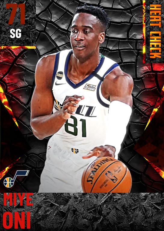 71 Miye Oni | Utah Jazz