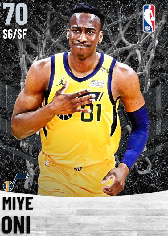 70 Miye Oni   Utah Jazz