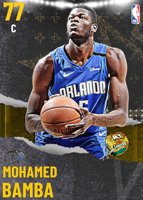 77 Mohamed Bamba | undefined