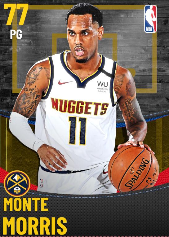 77 Monte Morris | Denver Nuggets