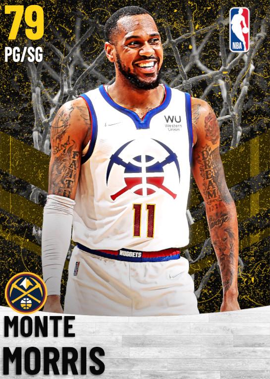 79 Monte Morris   Denver Nuggets