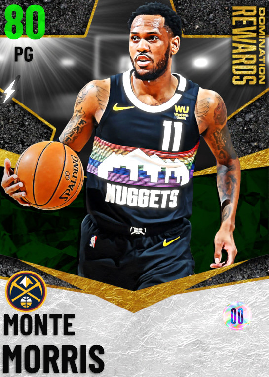 80 Monte Morris   Domination Rewards
