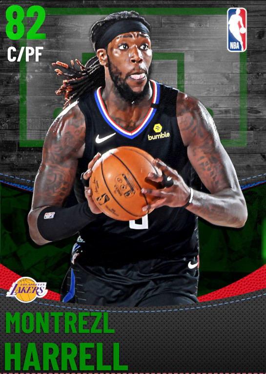 82 Montrezl Harrell | Los Angeles Lakers