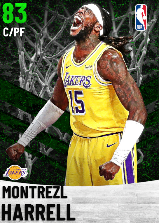 83 Montrezl Harrell   Los Angeles Lakers
