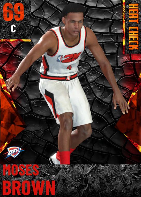 69 Moses Brown | Oklahoma City Thunder