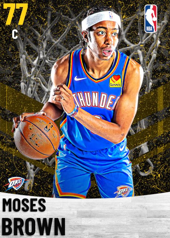 77 Moses Brown   Oklahoma City Thunder