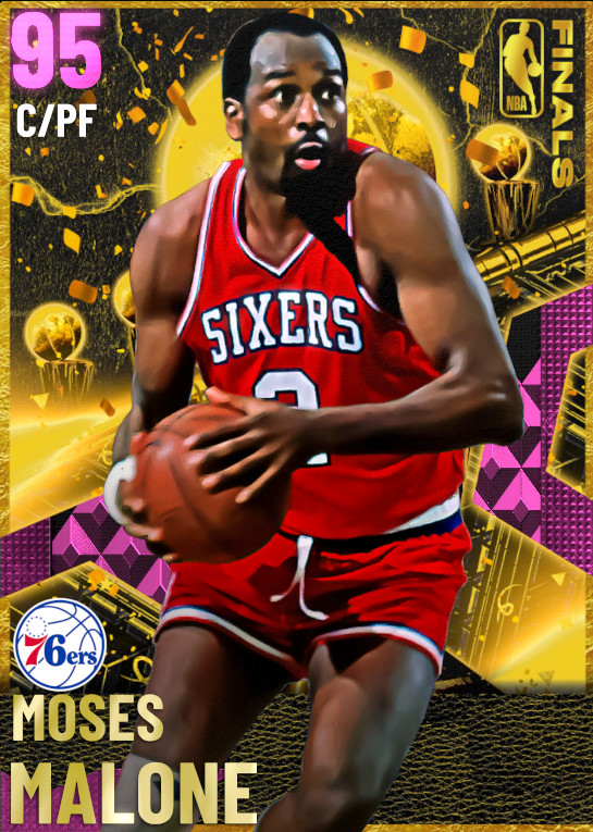 95 Moses Malone | Finals
